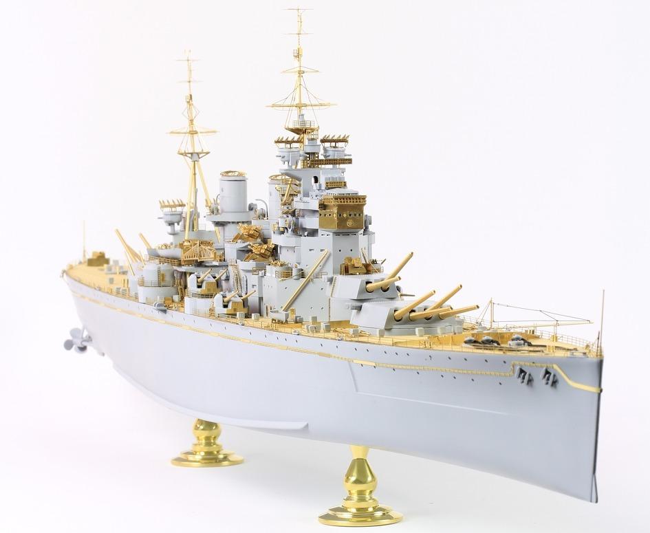 1//350 Pontos Model HMS KING GEORGE V 1941 Detail Up Set for Prince of Wales Kit