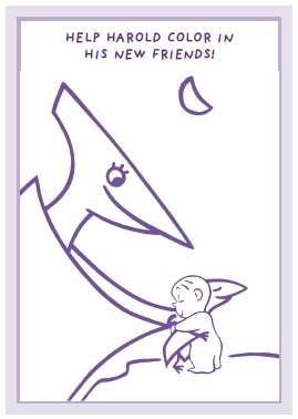 15 harold and the for Harold and the purple crayon coloring pages