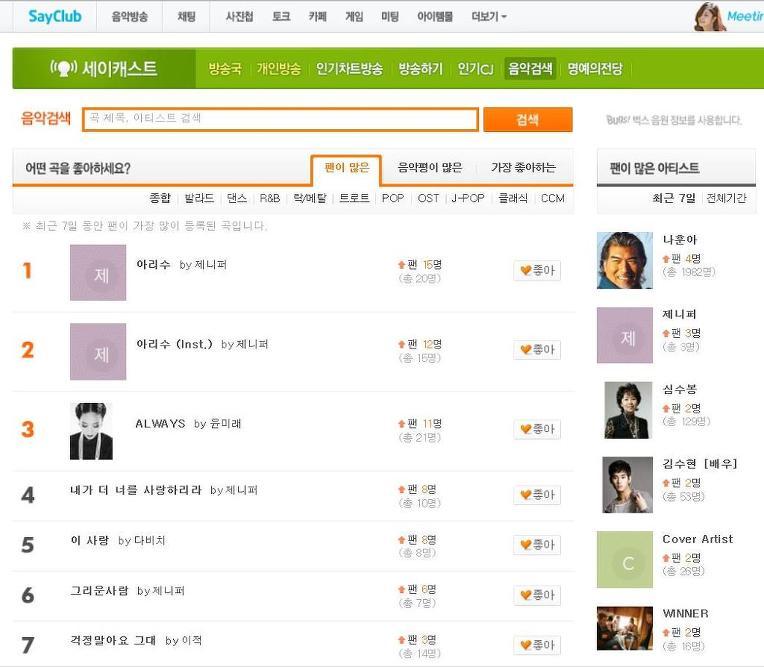 제니퍼 [2016 '愛水' (Single)] 온라인 반응