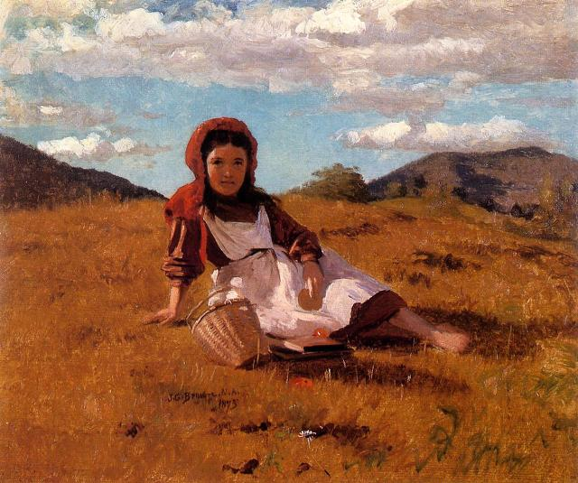 http://www.oilpaintingreproductions.us/images/artist/The%20Picnic%20Basket%20by%20John%20George%20Brown.jpg