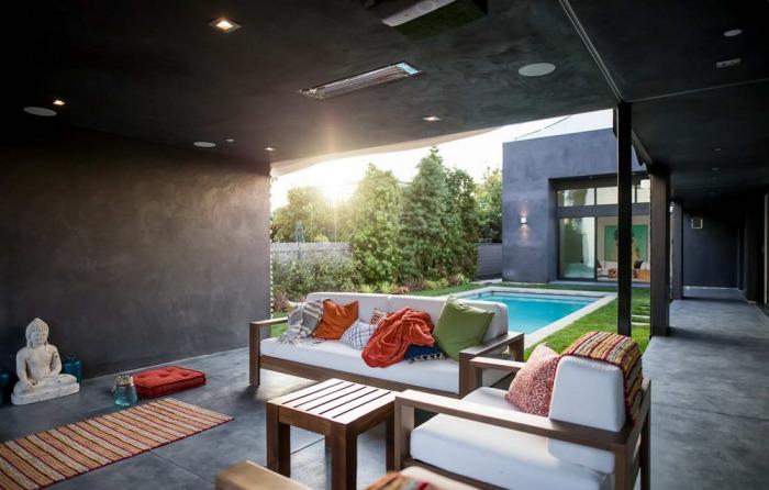 캘리포니아의 웨이브 하우스