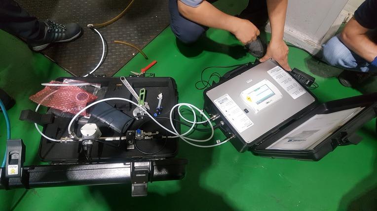 압축공기 파티클, 유분, 노점 측정기 (S-600)